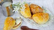 Фото рецепта Двухцветные дрожжевые булочки