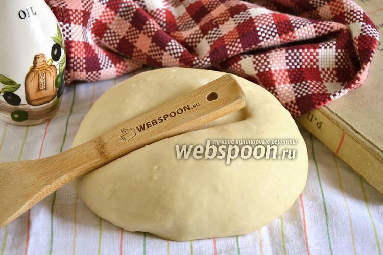 Фото Тесто для вареников на воде без яиц