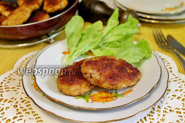 Фото Котлеты из свинины и курицы
