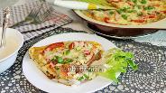 Фото рецепта Тилапия с помидорами в омлете, запечённая в духовке