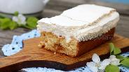 Фото рецепта Кекс с кокосовой меренгой