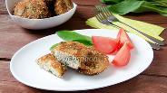 Фото рецепта Котлеты с черемшой и шпинатом
