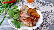 Фото рецепта Куриные ножки с апельсином и фенхелем
