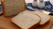 Фото рецепта Хлеб на сыворотке с овсяными хлопьями и смальцем в хлебопечке