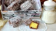 Фото рецепта Австралийское пирожное Ламингтон