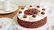 Фото рецепта Шварцвальдский вишнёвый торт (Чёрный лес)