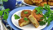 Фото рецепта Котлеты рыбные с сыром