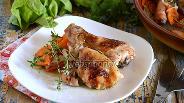 Фото рецепта Курица в духовке с белым вином, овощами и травами
