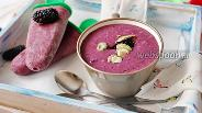 Фото рецепта Смузи-мороженое из шелковицы