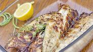 Фото рецепта Филе скумбрии на решётке