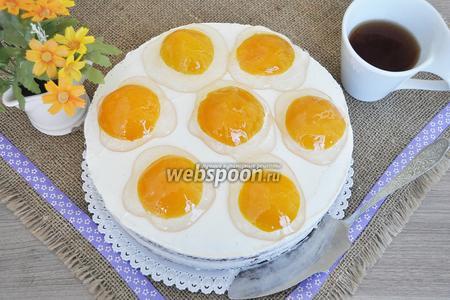 Торт «Яичница»
