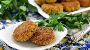 Фото рецепта Котлеты из консервированной сардины с рисом