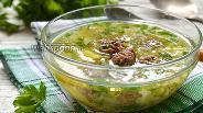 Фото рецепта Суп с фрикадельками и капустой