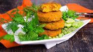 Фото рецепта Котлеты из тыквы с картофелем