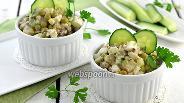 Фото рецепта Салат из сардины в масле и горошка