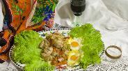 Фото рецепта Капуста тушёная с куриной грудкой