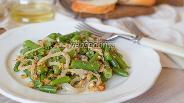 Фото рецепта Зелёная фасоль с орехами