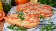 Фото рецепта Горячие бутерброды с сыром и помидорами