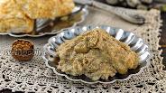 Фото рецепта Заварной ореховый крем без масла