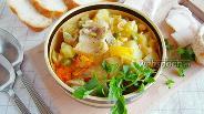 Фото рецепта Картошка с овощами в горшочке