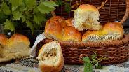Фото рецепта Пирожки с гречкой и картофелем
