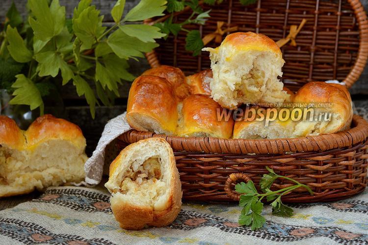 Фото Пирожки с гречкой и картофелем