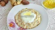 Фото рецепта Каша многозерновая со вспененным Пармезаном