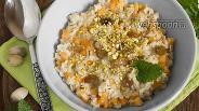 Фото рецепта Овсяная каша с тыквой и орехами