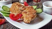 Фото рецепта Икра толстолобика обжаренная с кунжутом
