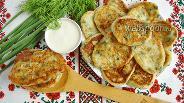 Фото рецепта Йогуртовые оладьи с творогом и зеленью