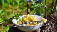Фото рецепта Ленивые вареники с яблоками