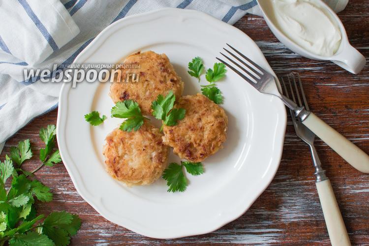 Фото Капустные котлеты с мясом