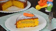 Фото рецепта Морковно-кокосовый пирог