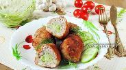 Фото рецепта Зразы мясные с капустой