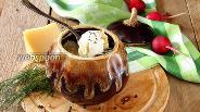 Фото рецепта Пельмени в горшочке в духовке