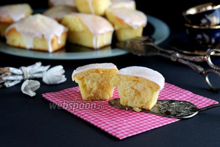 Творожно-лимонные кексы