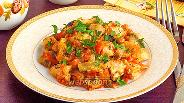 Фото рецепта Овощное рагу с курицей
