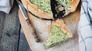 Фото рецепта Тарт с рикоттой и шпинатом