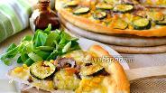 Фото рецепта Летняя «белая» пицца