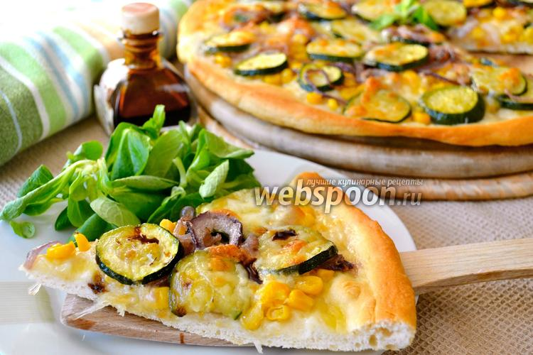 Фото Летняя «белая» пицца