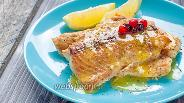 Фото рецепта Филе лосося под лимонно-апельсиновым соусом