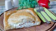 Фото рецепта Слоёный пирог с рыбой