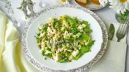 Фото рецепта Салат из свежего кабачка и сыра