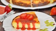 Фото рецепта Запеканка из рикотты с кокосом