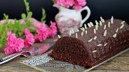 Фото рецепта Шоколадно-ореховый кекс с пудингом