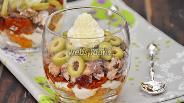 Фото рецепта Веррины с сардинами, вялеными томатами и оливками