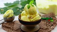 Фото рецепта Сливочное мороженое с белой смородиной