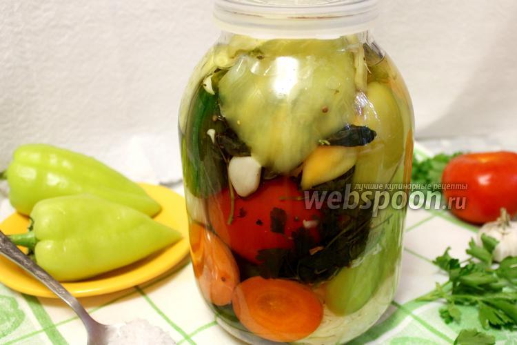 Фото Ассорти овощное на зиму
