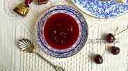 Фото рецепта Вишнёво-шоколадное варенье