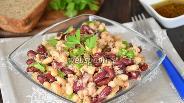 Фото рецепта Салат из фасоли с тунцом